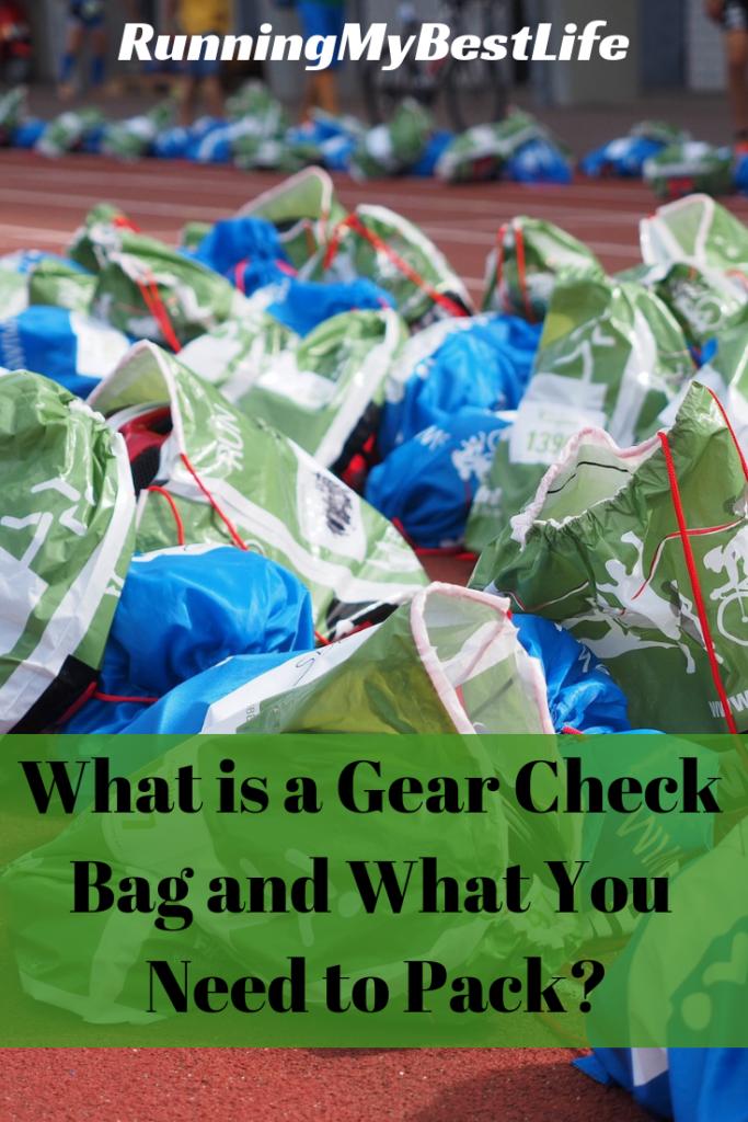 Gear Check Bag