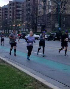 Salt Lake City Half Marathon Mile 5
