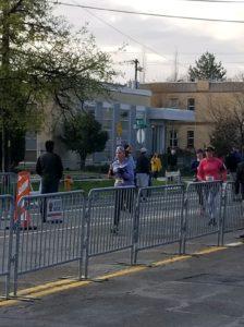 Salt Lake City Half Marathon Finish Chute