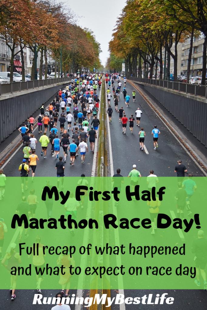 First Half Marathon Race Day