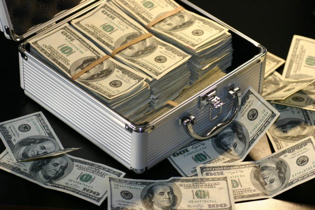 debt free cash flow net worth