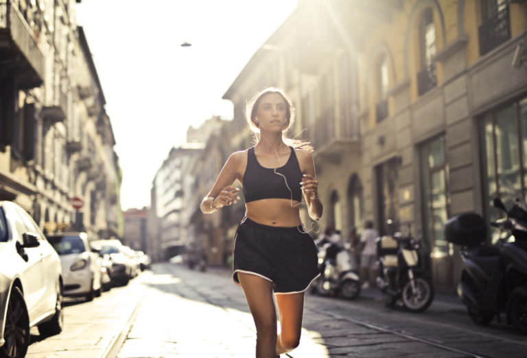 running alone self defense