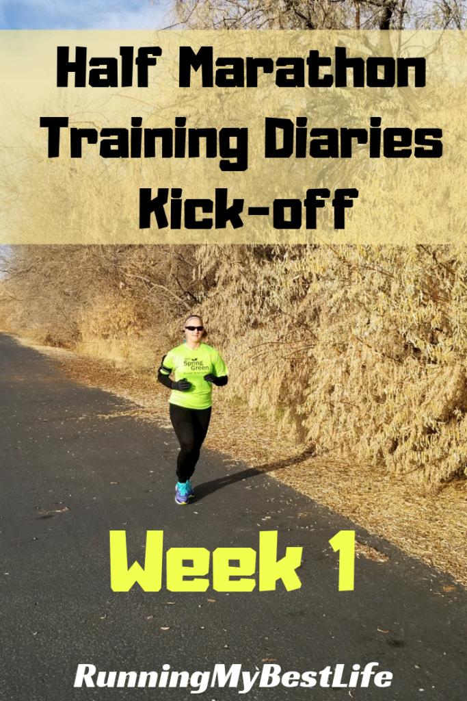 half marathon training week 1