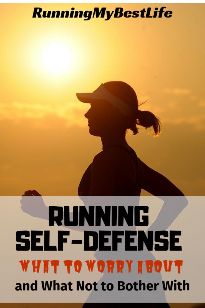 Running self defense