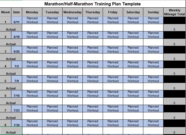 Running Workout Tracker