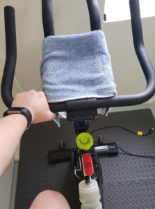 half marathon cross training spin bike