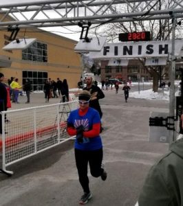 Sweetheart 5k race recap finish line