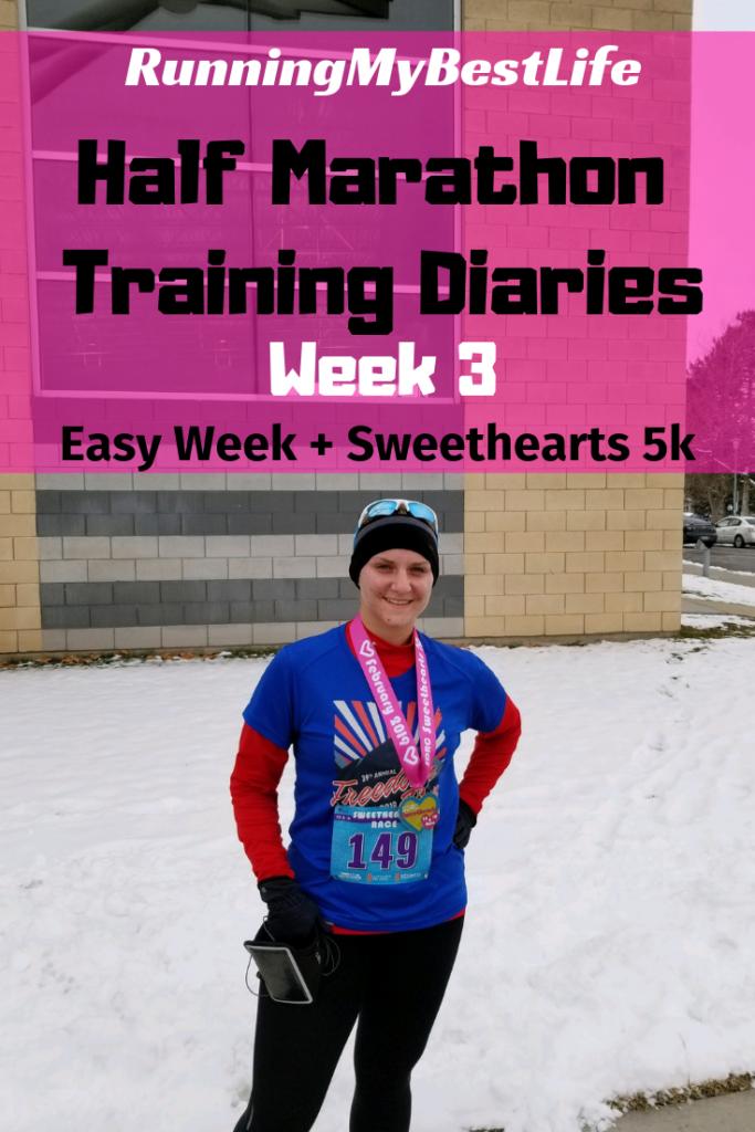 half marathon training week 3