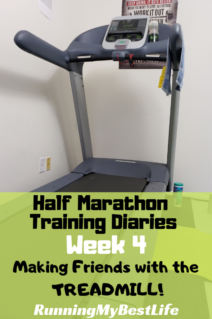 half marathon training diaries week 4 treadmill