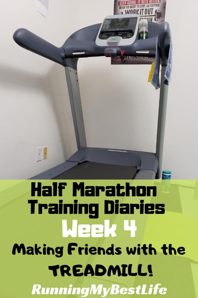 half marathon training diaries week 4 treadmill