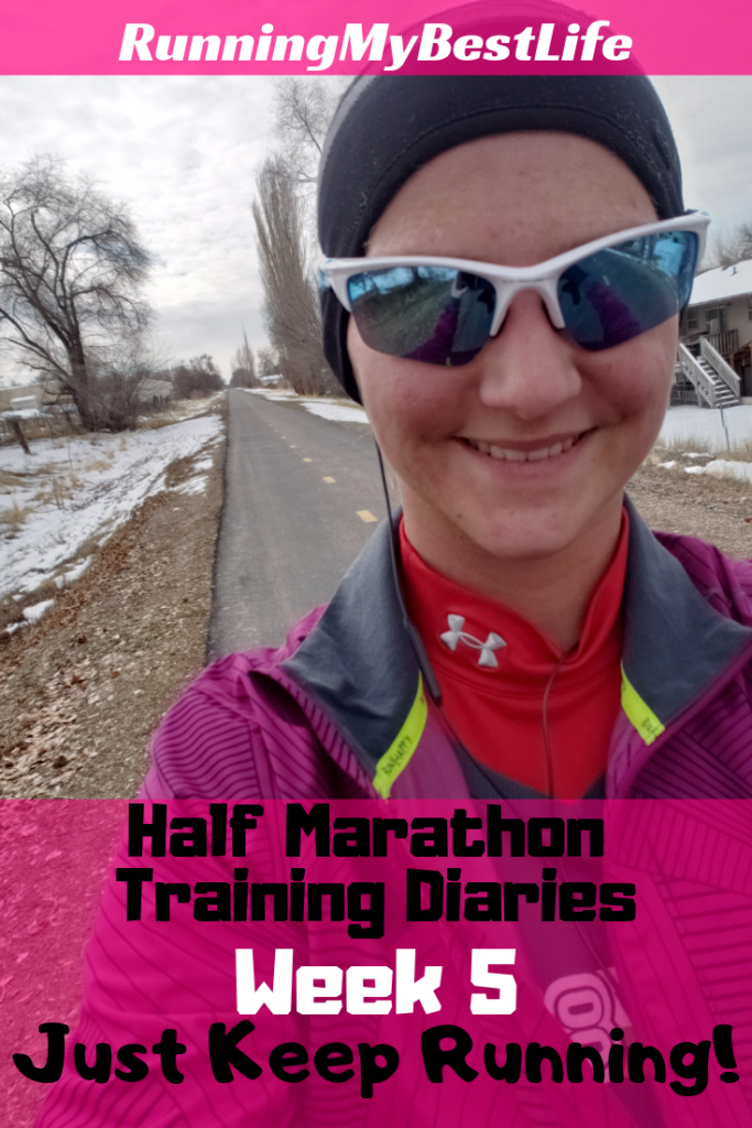 half marathon training week 5