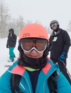 Skiing at Powder Mountain