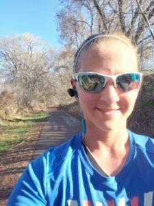 Half Marathon training long run blue skies