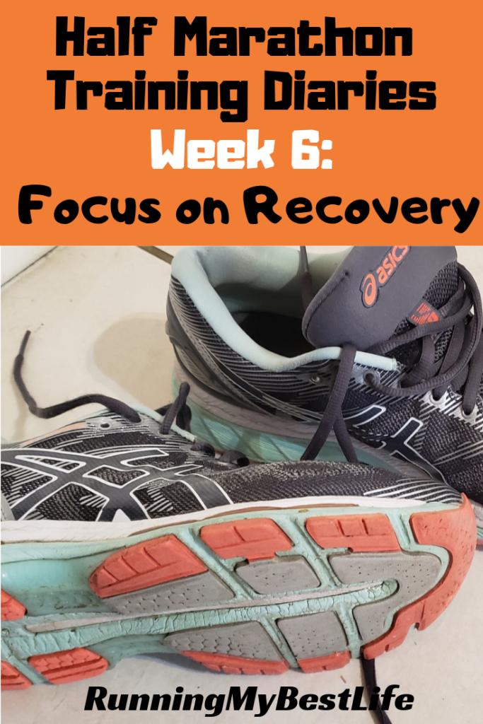 Half Marathon Training Diaries Focus on Recovery