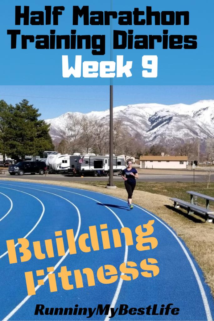 half marathon training diaries building fitness