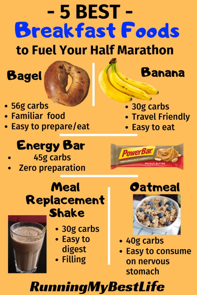 Half Marathon Breakfast Foods