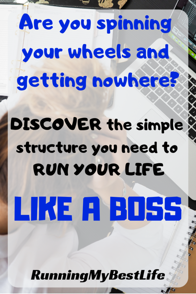 Discover the simple structure you need to run your life like a boss. Productivity.