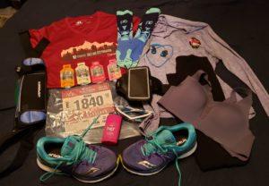Flat runner half marathon