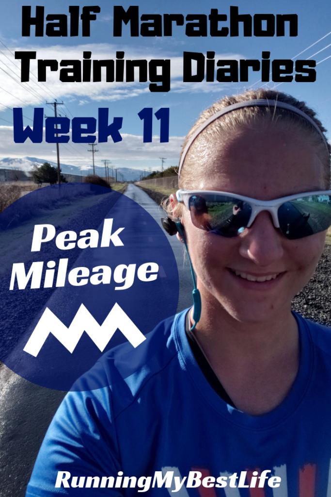 Half Marathon Training Diaries Week 11 Peak Mileage