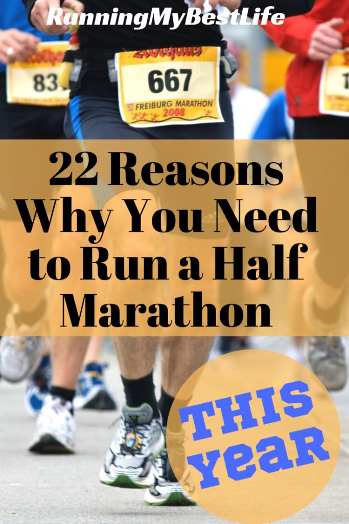 22 reasons to run a half marathon