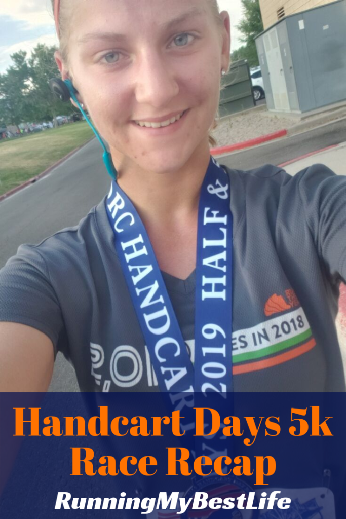 Handcart Days 5k Race Recap