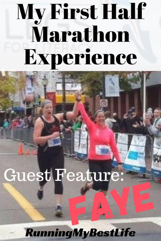 My First Half Marathon Experience Faye