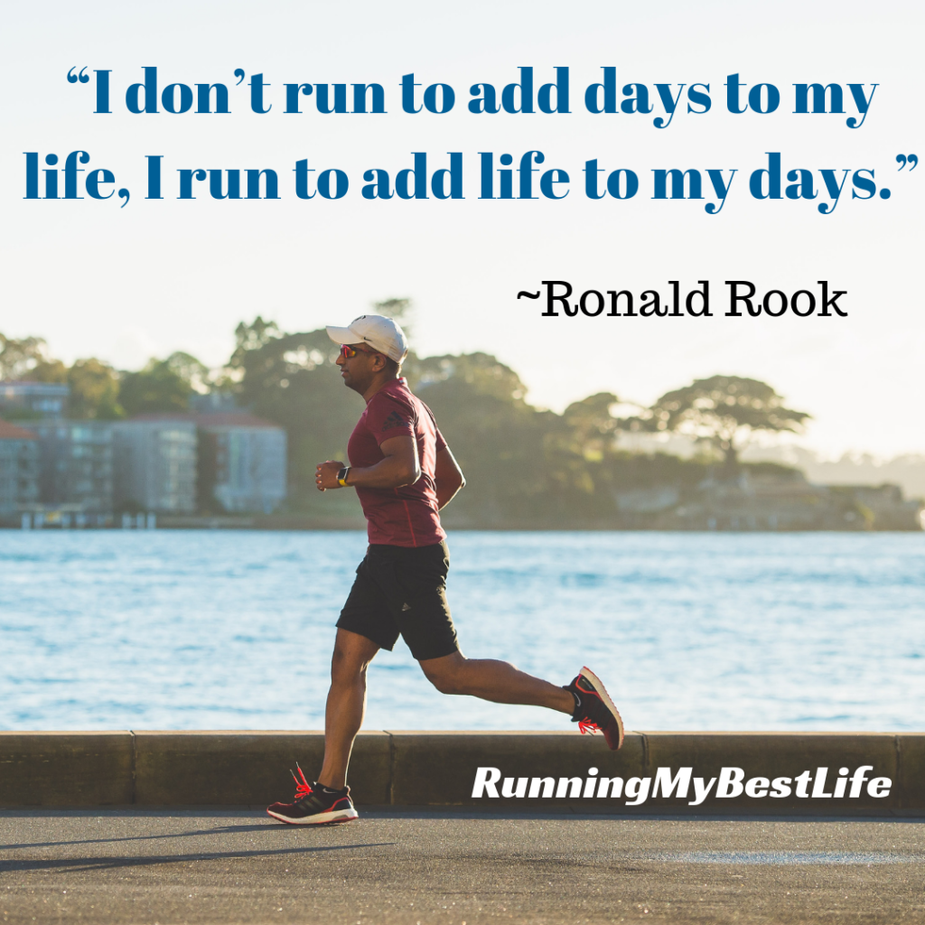 """I don't run to add days to my life, I run to add life to my days."" Running Life Motivation Inspirational Quotes"