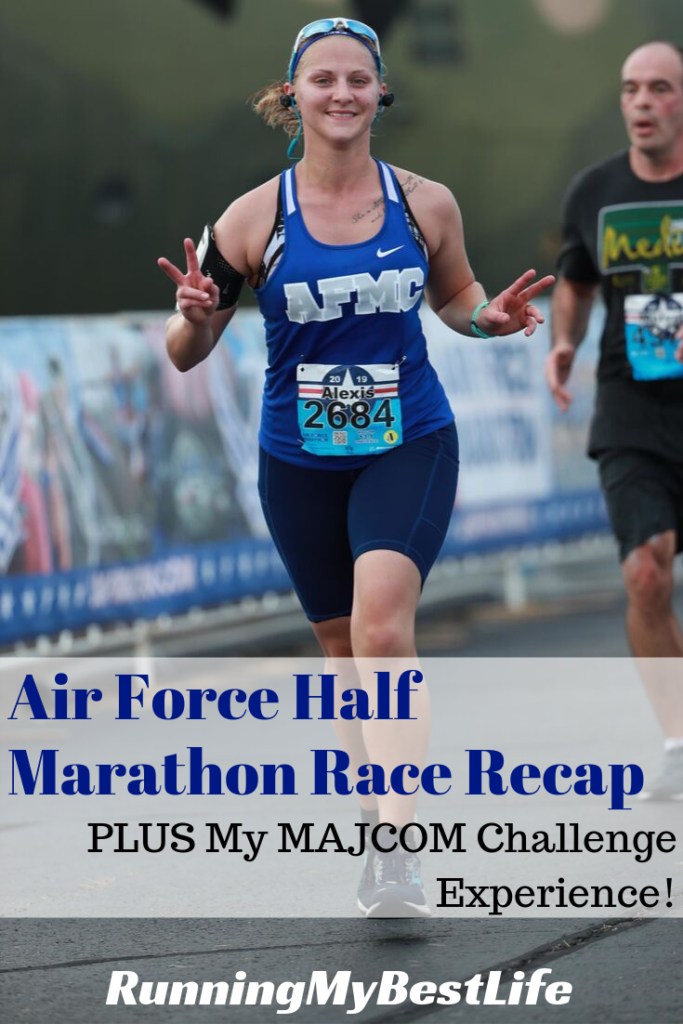 Air Force Half Marathon Race Recap MAJCOM Challenge