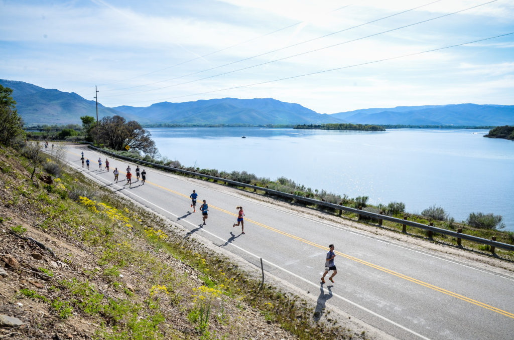 Ogden Marathon Pineview Reservoir