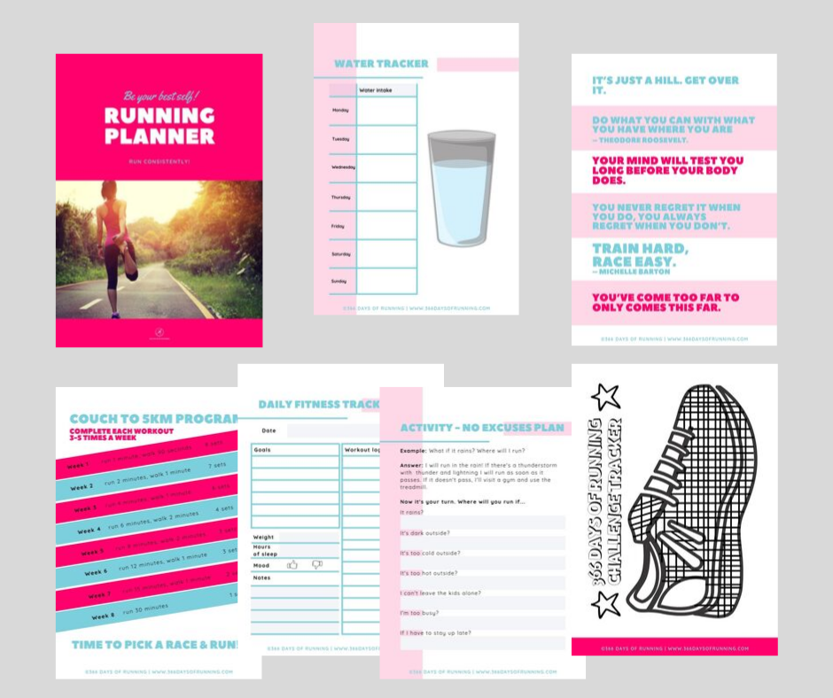 The Running Planner: For Running Every Day