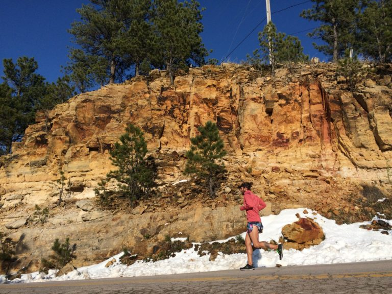 base training winter running