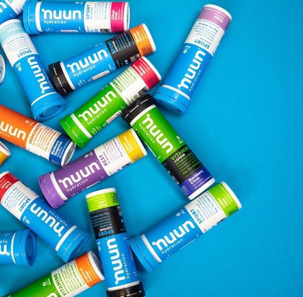 Colorful Nuun Hydration Instagram